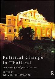 Political Change in Thailand PDF