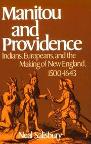 Manitou and Providence PDF