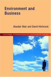 Environment and Business (Routledge Introductions to Environment)