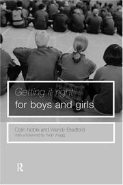 Getting It Right for Boys and Girls PDF