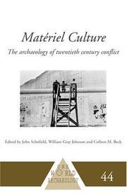 Materiel Culture PDF