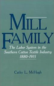 Cover of: Mill family by Cathy L. McHugh