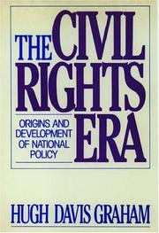The civil rights era by Hugh Davis Graham