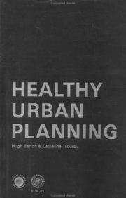 Healthy Urban Planning by Hugh Barton