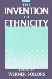 The Invention of Ethnicity PDF