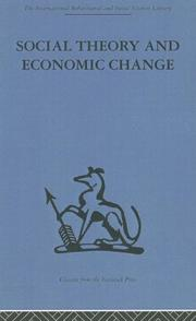 Social theory and economic change PDF