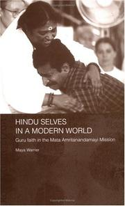 Hindu selves in a modern world by Maya Warrier