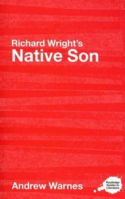 Richard Wright's Native Son by Andrew Warnes