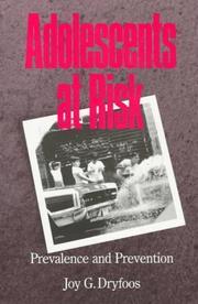 Adolescents at Risk PDF