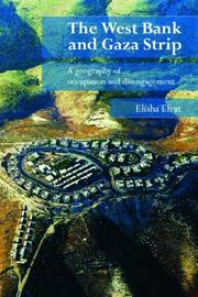 The West Bank and Gaza Strip by Elisha Efrat