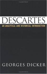 Descartes by Georges Dicker