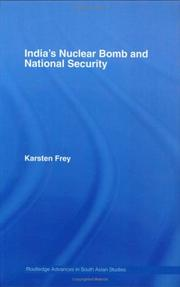 India's Nuclear Bomb and National Security (Routledge Advances in Asia-Pacific Business) PDF