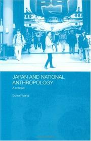 Japan and national anthropology PDF