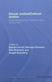 Sexual Justice/Cultural Justice PDF