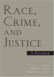 Race, Crime, and Justice PDF