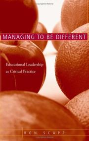 Managing to be different PDF