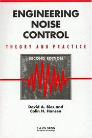 Engineering Noise Control by David A. Bies