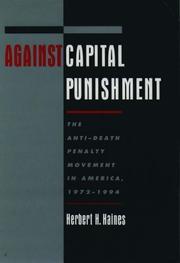 Against capital punishment PDF
