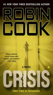Crisis by Robin Cook, Robin Cook