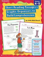 Short Reading Passages & Graphic Organizers to Build Comprehension PDF