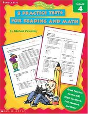 8 Practice Tests for Reading and Math by Michael Priestley