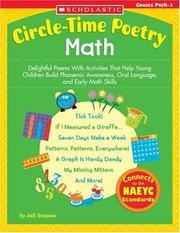 Circle Time Poetry Math PDF