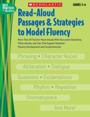 Read-Aloud Passages & Strategies to Model Fluency: Grades 5-6 by Danielle Blood