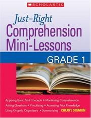Just-Right Comprehension Mini-Lessons PDF