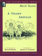 Cover of: A tramp abroad by Mark Twain