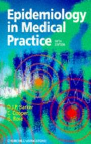 Epidemiology in medical practice PDF