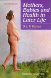 Mothers, babies, and health in later life PDF