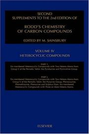 Second supplements to the 2nd edition of Rodd's chemistry of carbon compounds : a modern comprehensive treatise