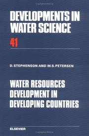 Water resources development in developing countries PDF