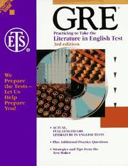 Gre by Educational Testing Service (ETS)