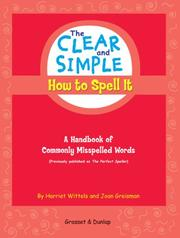 The Clear and Simple How to Spell It PDF