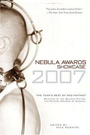 Nebula Awards Showcase 2007 (Nebula Awards Showcase) PDF