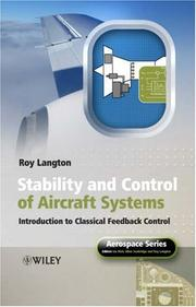 Stability And Control of Aircraft Systems PDF