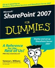 Microsoft SharePoint 2007 For Dummies PDF
