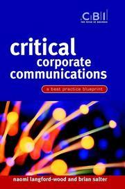 Critical corporate communications PDF