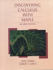 Discovering calculus with Maple PDF