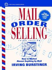 Mail order selling by Irving Burstiner