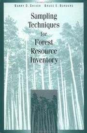 Sampling techniques for forest resource inventory PDF
