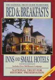The National Trust guide to historic bed & breakfasts, inns & small hotels PDF