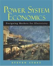 Power system economics by Steven Stoft