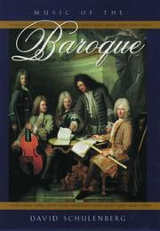 Music of the Baroque PDF
