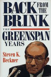 Back from the Brink by Steven K. Beckner