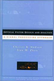 Optical filter design and analysis PDF