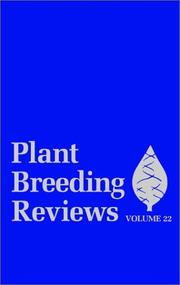 Plant Breeding Reviews by Jules Janick