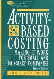 Activity-based costing PDF