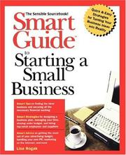 Smart Guide to starting a small business by Lisa Rogak
